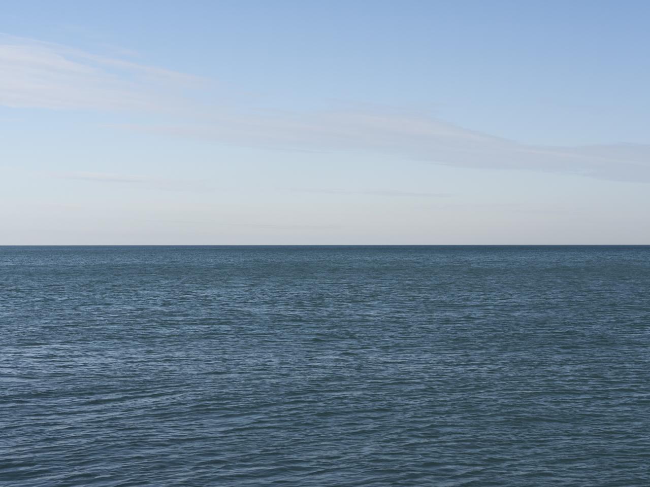 Lake Michigan, January 2nd, 2020 (1)