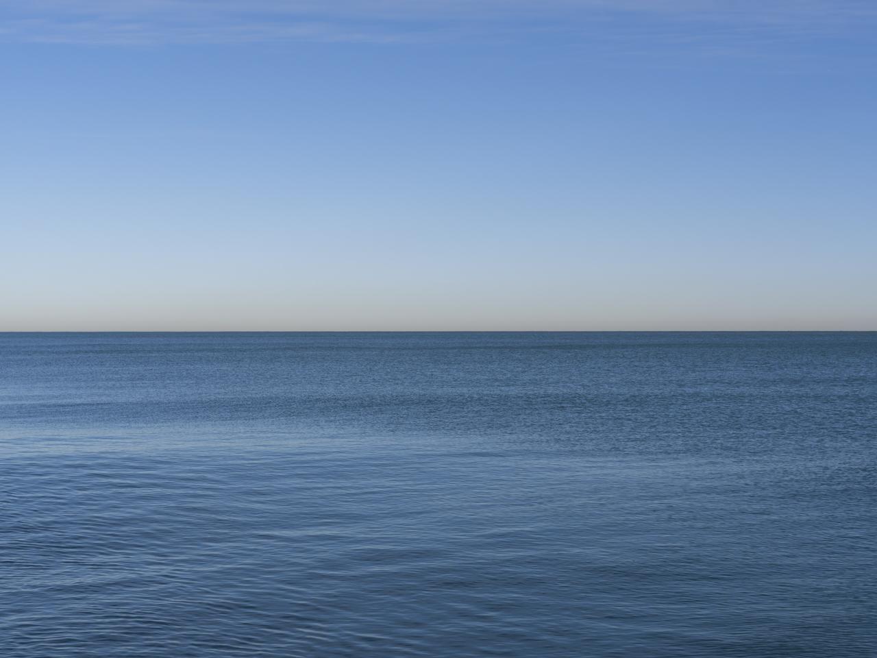 Lake Michigan, January 6th, 2020