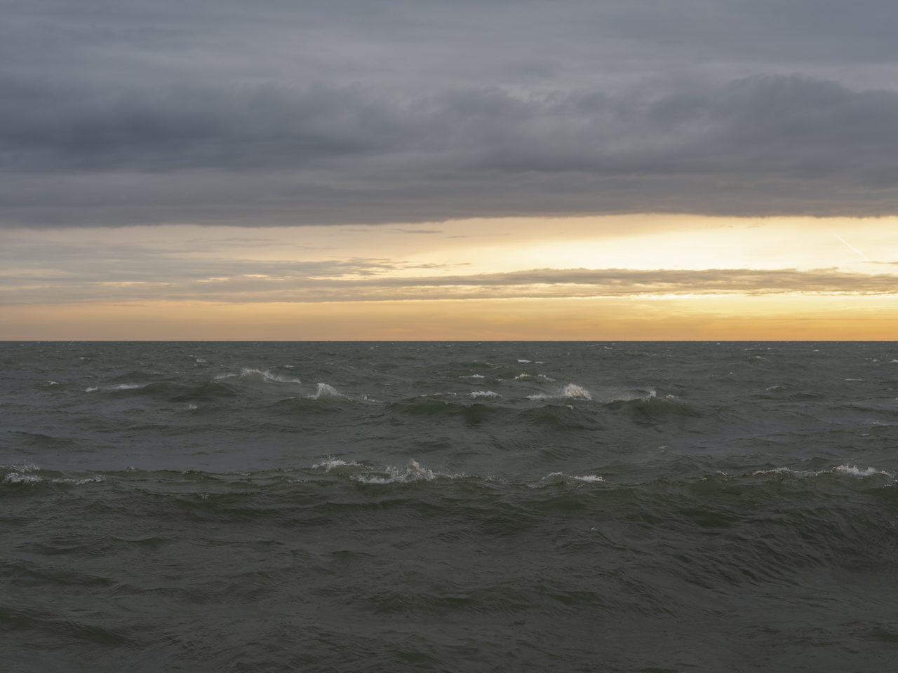 Lake Michigan, January 9th, 2020