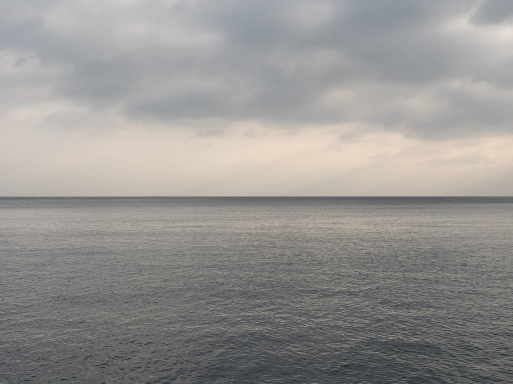 soft morning light on Lake Michigan