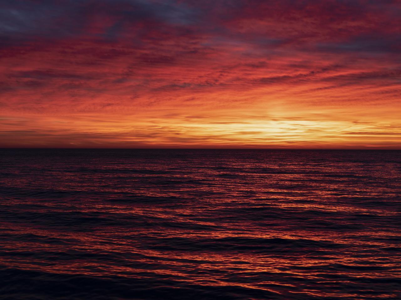 Lake Michigan, December 25th, 2019 (1)