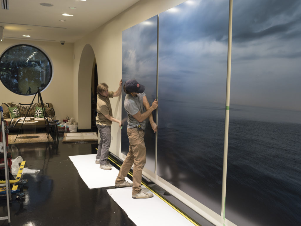 Lake Series at ikram, Installation 6