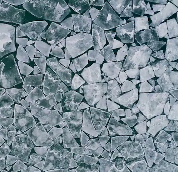lake ice from Selected Artworks Lincoln Schatz