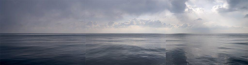 Stormy Lake Panorama Photos