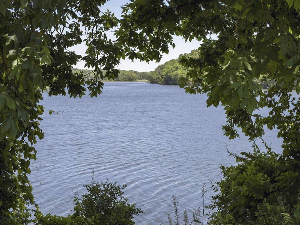 Pond in Ponca Nebraska